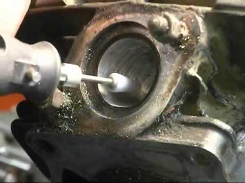 Blaster Cylinder Porting Exhaust part 2