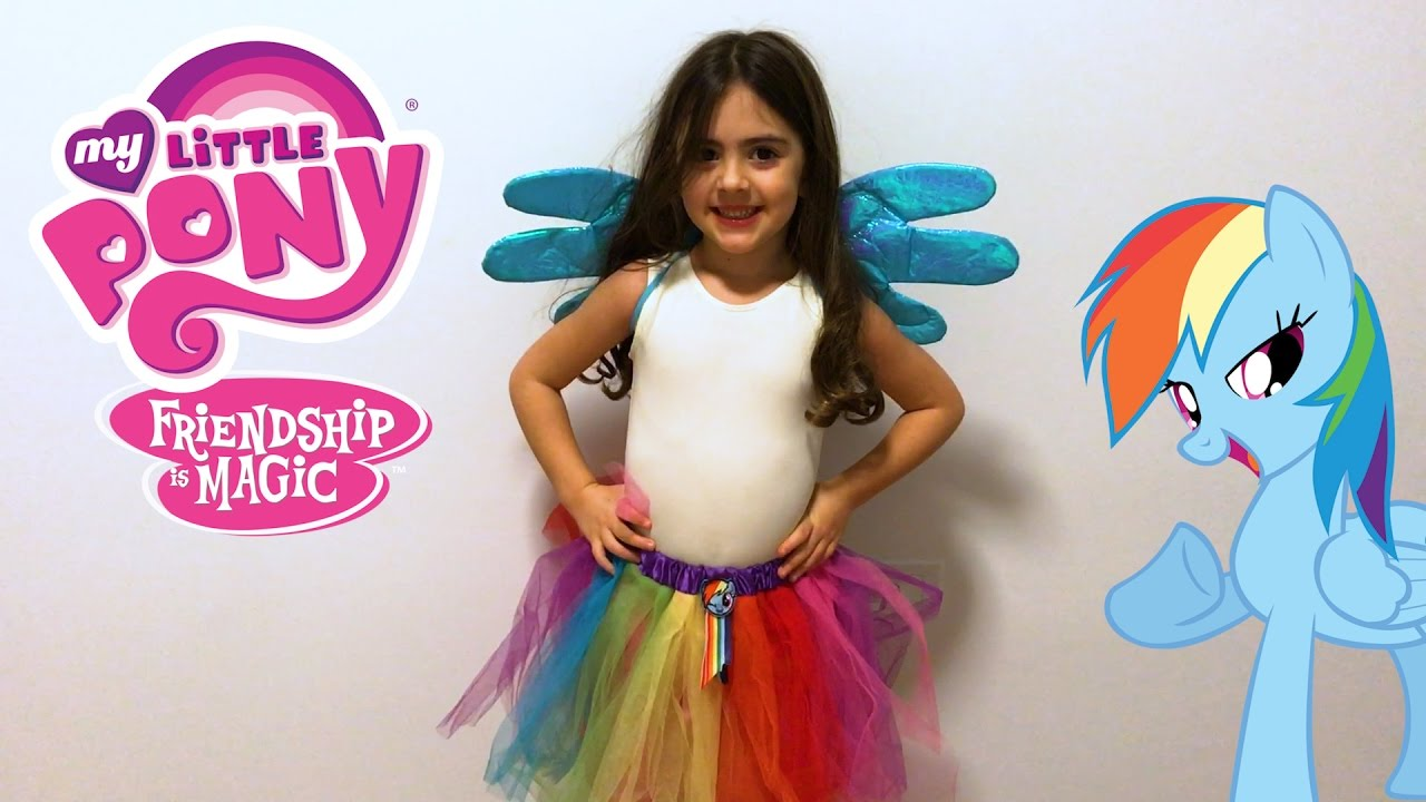 My Little Pony Rainbow Dash Tutu With Wings From Just Play