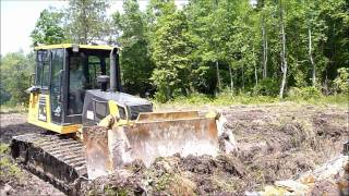 Dozer Root Raking