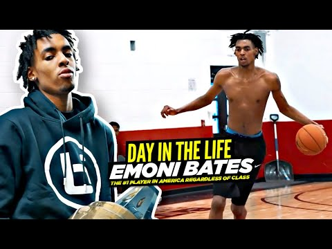 """Download Emoni Bates: """"Day In The Life"""" w/ The #1 Player In America! The Grind NEVER STOPS"""