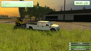 PC: Austin: Farming Simulator 2013 Ep. 4 - Teaching the first new guy