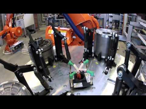BMW i3 Electric Motor Production - October 2013