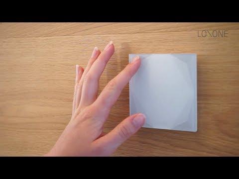 Tlačítkový standard Loxone - Jednoduché ovládání domácnosti