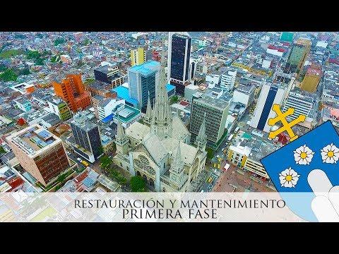 Catedral Basílica de Manizales - Obras de Restauración y Mantenimiento 2017 (Primera Fase)