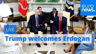 President Trump welcomes President Erdogan   LIVE