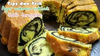 Resep dan cara membuat bolu marmer....lembut, wangi dan enak banget....mantulll