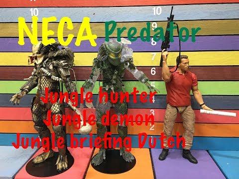 NECA Predator JUNGLE HUNTER, JUNGLE DEMON,...