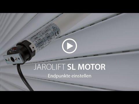 wie man wählt zu verkaufen bestbewertet billig Endpunkte einstellen - SL Rohrmotor | JAROLIFT
