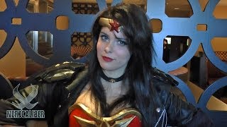 WONDER WOMAN Cosplay by Gina B at Super Megafest 2013