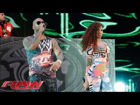 Flo Rida performs: Raw, July 21, 2014