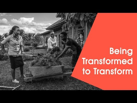 Being Transformed to Transform