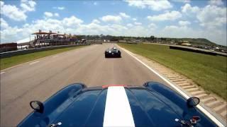 Jaki Scheckter and Pablo Clark Racing Ferrari 250 GTM Historics Race 2 Zwartkops 2011