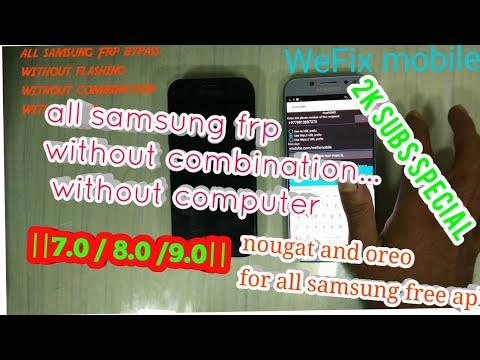 Samsung A5 2017 (SM-A520F) frp bypass unlock without pc a7 17 google  verification unlock || a720 ||