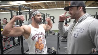 LEG DAY WITH DOM MAZZETTI | BRADLEY MARTYN | BROSCIENCELIFE