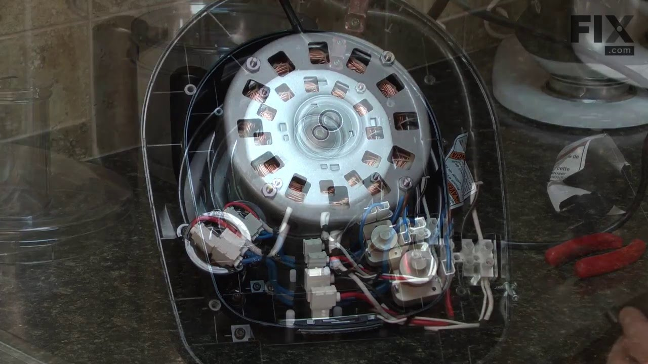 Kitchenaid Food Processor Repair How To Replace The