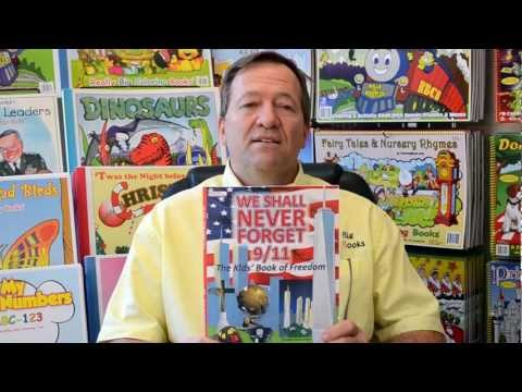 9/11 - Coloring Book Graphic Novel We Shall Never Forget Wayne Bell Publisher