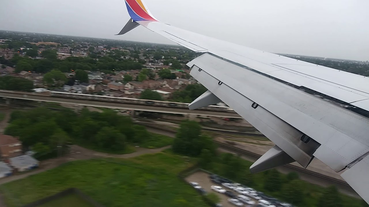 Southwest Landing at Chicago Midway from Norfolk