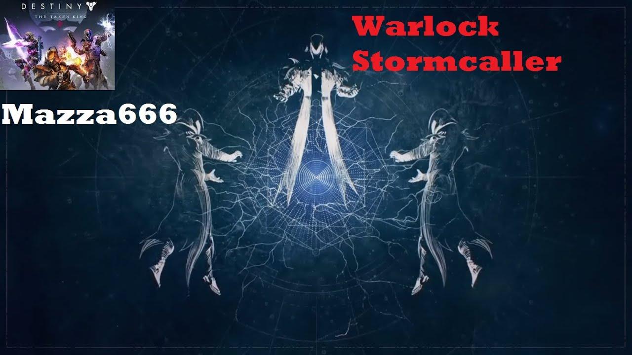 Destiny the taken king a spark in shadow mission warlock stormcaller part 1 youtube - Warlock stormcaller ...