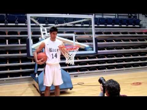 Rice basketball photo shoot