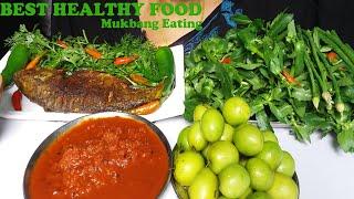 Best Healthy Food Eating Show Mukbang