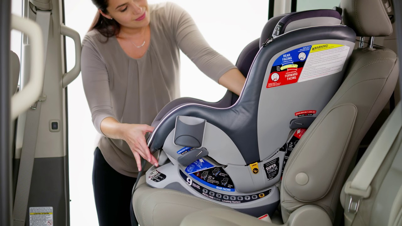 Chicco Nextfit Installing With Seat Belt Forward Facing