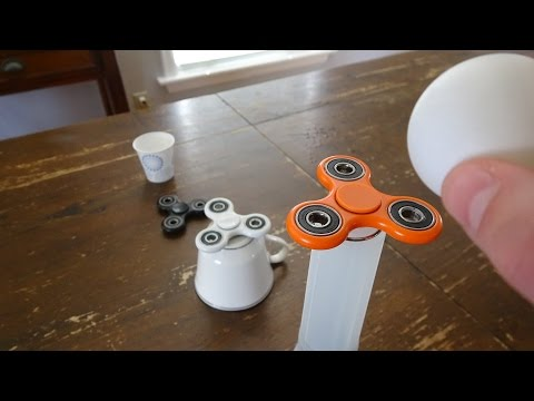 Thumbnail: Fidget Spinner Trick Shots | That's Amazing