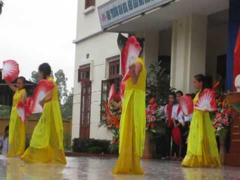My My + Múa Quạt 9A+8A THCS Xuân Nộn