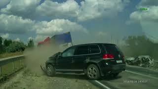 Авария на трассе Сызрань   Саратов