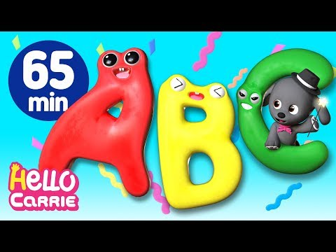 The Best ABC Song Compilation l More Alphabet Songs from YouTube · Duration:  1 hour 5 minutes 26 seconds