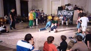 Фестиваль брейка в Калуге / Dancing festival in Kaluga.WMV