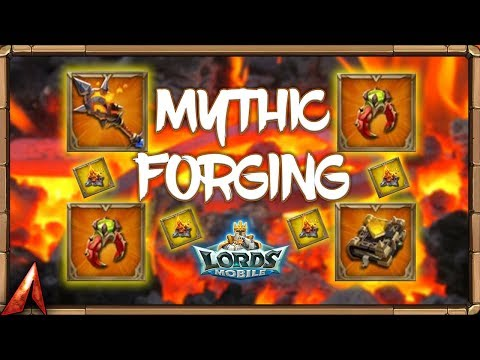 Mythic Forging Equipment! Gem Expensive! Lords Mobile