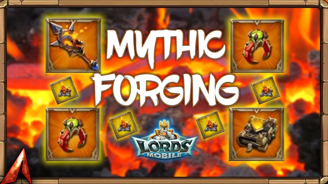 Download Mythic Forging Equipment! Gem Expensive! Lords Mobile