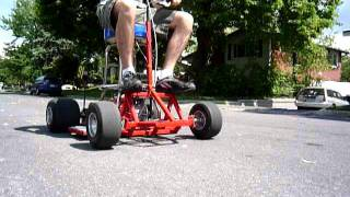 Motorised Barstool Wheelie