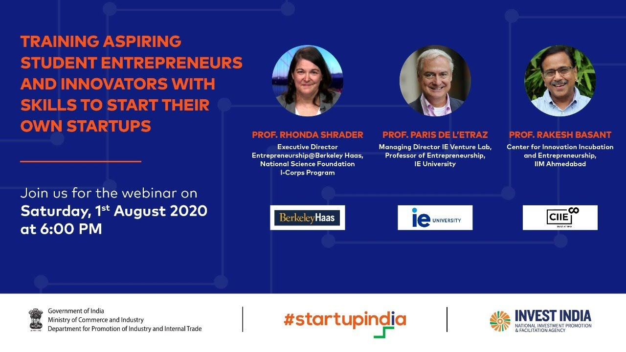 Training Aspiring Student Entrepreneurs and Innovators with Skills to Start their Own Startups