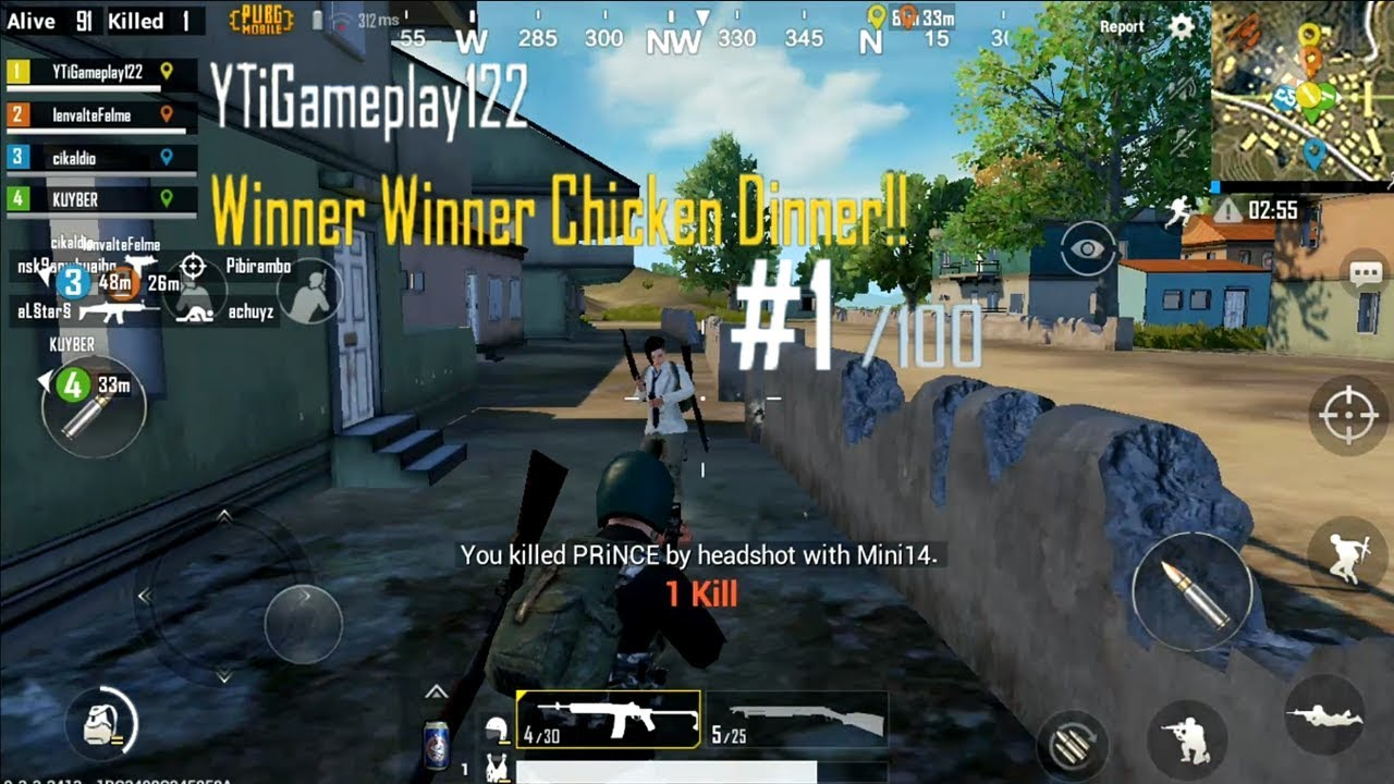 Official Pubg Mobile Gameplay: PUBG MOBILE Android Gameplay 14 Kill