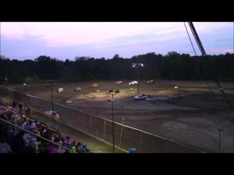 Butler Motor Speedway UMP Modified Heat #2 8/5/17