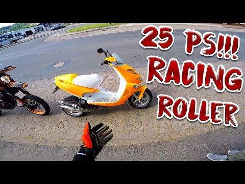 25PS Getunter Roller! Vollgas Testfahrt!