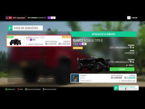 Forza Horizon 4 Vid #1: Sniping A 723 Quartz Regalia Type D