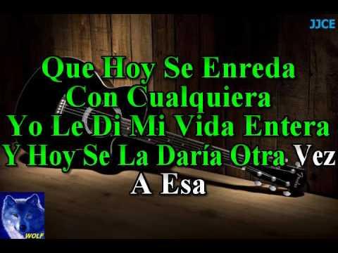 karaoke  A Esa  Jose Jose
