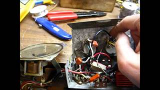 Repair of an RCA Victor 45 rpm record player - pt. 1