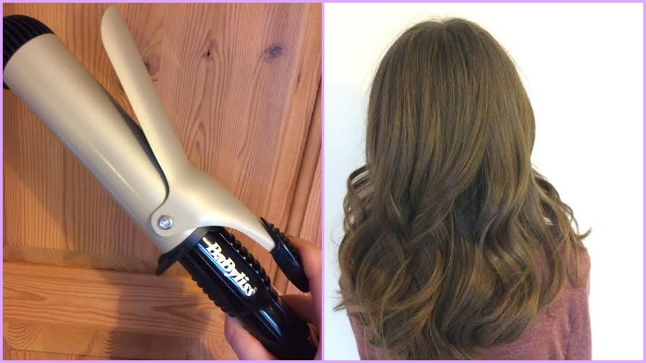 How To Use The Babyliss Volume Waves Curler Easy Curls