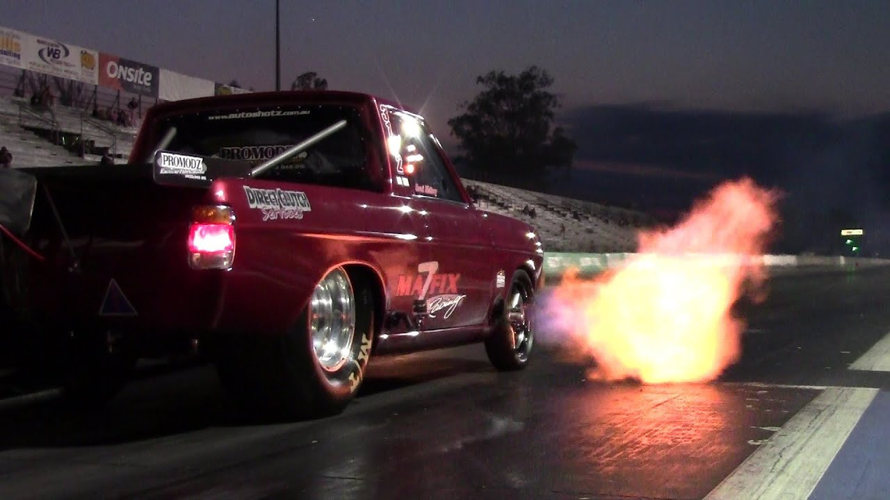 Datsun 1200 Rotary Dragster - YouTube