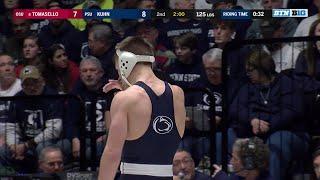 Big Ten Wrestling: 125 LBs - Ohio State's Nathan Tomasello vs. Penn State's Carson Kuhn