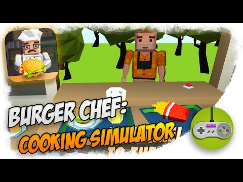 Android игра Burger Chef: Cooking Simulator. Обзор.