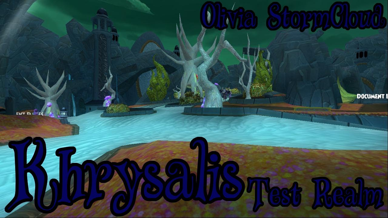Wizard101: The First Look at Khrysalis - Part 1 by LivvyPlays
