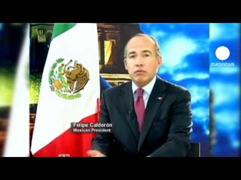"""Calderón: """"México no se doblegará ante Francia por..."""