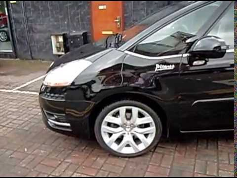 2008 08 citroen c4 picasso 2 0hdi 16v exclusive 5dr egs auto youtube. Black Bedroom Furniture Sets. Home Design Ideas