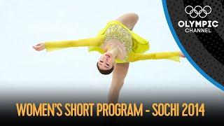 Women's singles short program - Figure Skating | Sochi 2014 Replays
