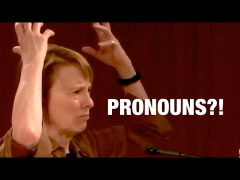 Camille Paglia is asked about Jordan Peterson & the gender pronoun controversy