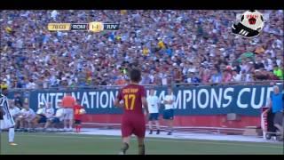 Cengiz Under vs JUVENTUS - AS Roma's New Turkish Star - 30.07.2017